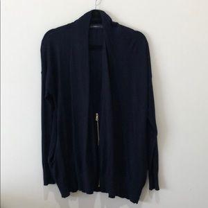 Zara zip cardigan